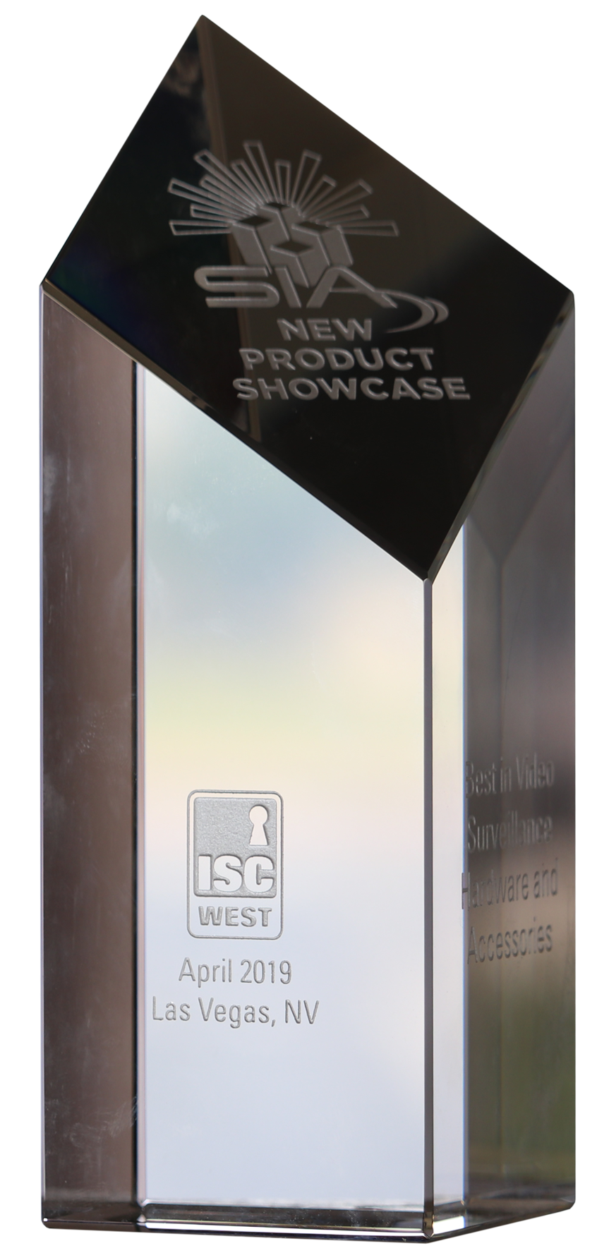 dotworkz sia 2019 new product showcase aka nps crystal award best in video surveillance hardware and accessories side
