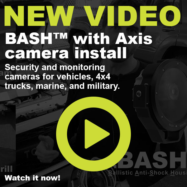 dotworkz 2019 New Video BASH with Axis camera install