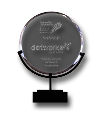 dotworkz 2019 awards small from 1998 to 2019 new product showcase 2016 nps crystal award best in video surveillance hardware and accessories