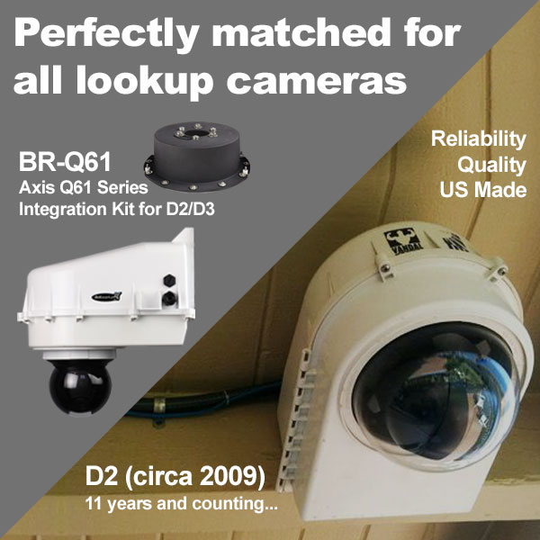 Perfectly matched for all lookup cameras - D2 (circa 2009) 11 years and counting