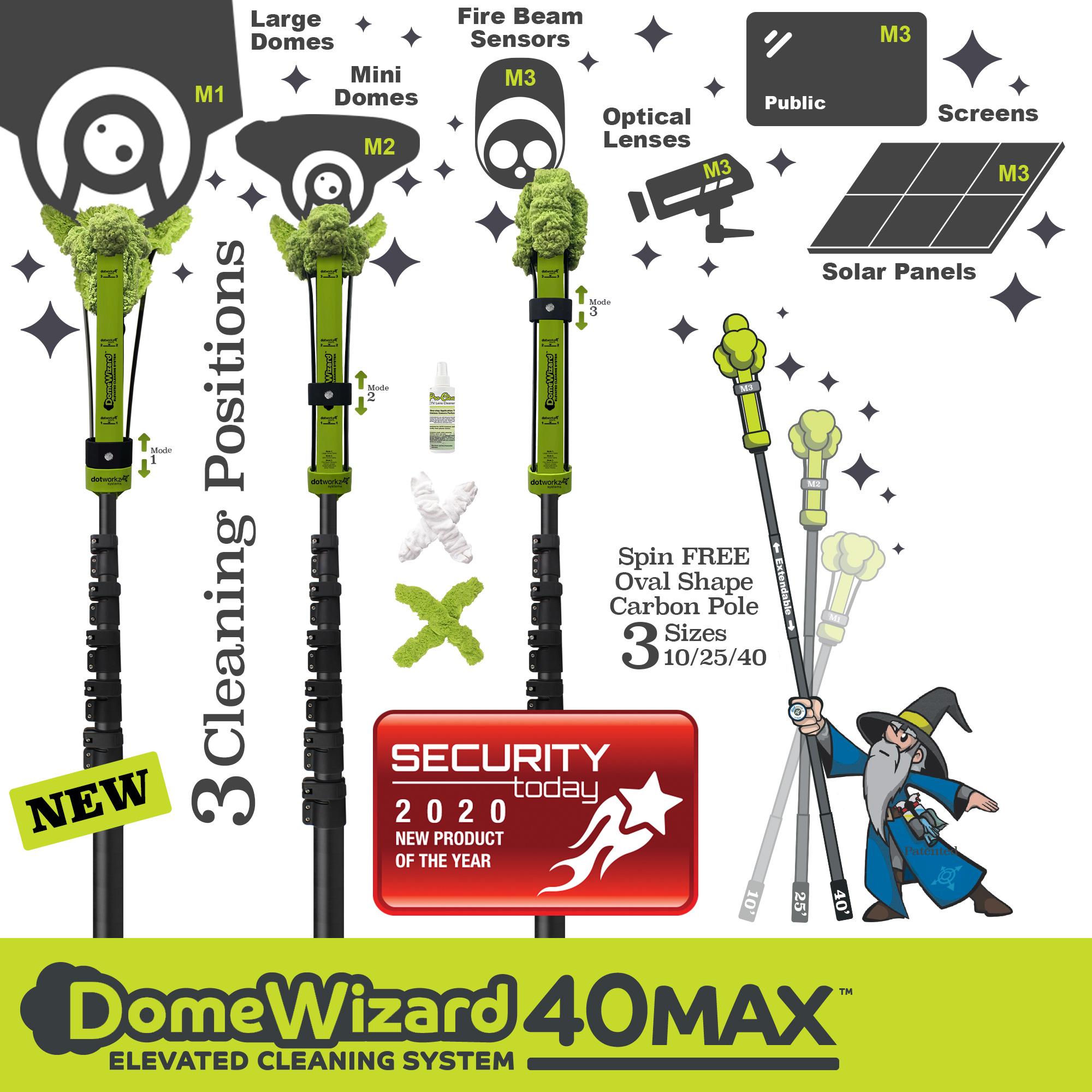 DomeWizard 40Max NPOY Award 2020