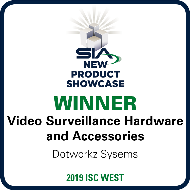 SIA New Product Showcase Winner Video Surveillance Hardware and Accessories