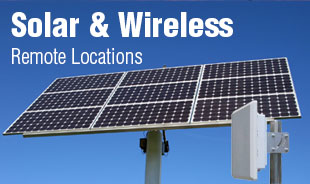 AXIS Compatible Camera Enclosures Extreme Applications for Remote Locations using Solar & Wireless Technologies