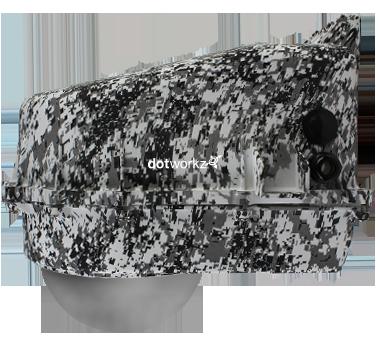 D2 (D Series) Snow Camoflage Color Option