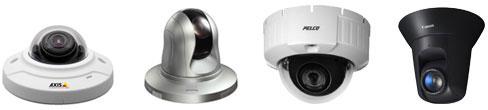 D2 / D3 Camera Compatibility: ACTi, Arecont, Avigilon, AXIS, Bosch, Canon, Cisco, D-Link, GE, Infinova, IQInVision, JVC, Mobotix, Panasonic, Pelco, Samsung, Sony, Toshiba, VideoIQ, and more.