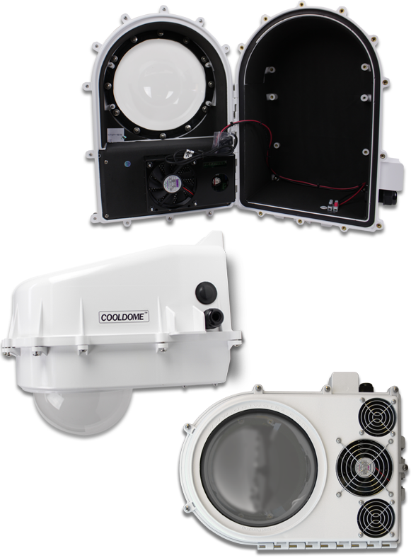 3 Stage Temperature Stabilization System - Isolate, Insulate, & Regulate COOLDOME
