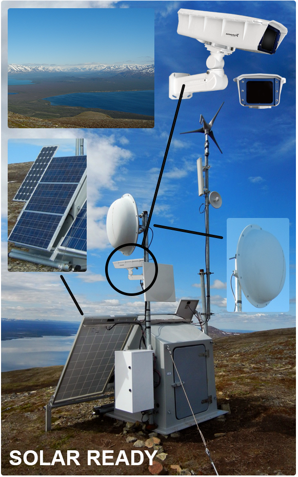 S-Type Solar & Wireless - Remote Locations