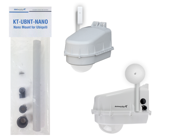 Dotworkz November 2014 Newsletter Featured Product Ubiquiti Mount KT-UBNT-NANO